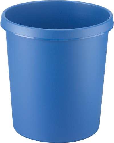 Papierkorb, 18 Liter, blau
