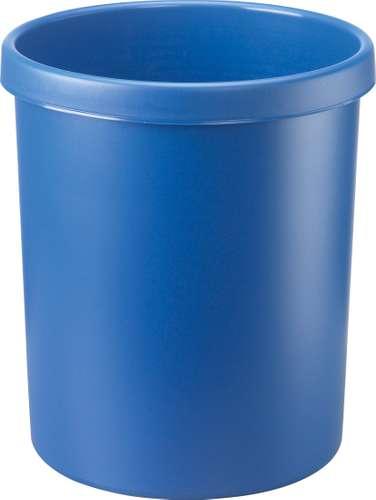 Papierkorb, 30 Liter, blau