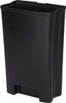Inneneimer für Rubbermaid Front Step aus Kunststoff mit 50 Liter Füllmenge in Schwarz  1