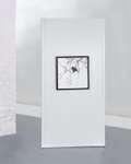 Weißes Stellwandmodul 'Screen Art', Dekorplatte mit den Maßen 100 x 198 cm 1