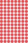 Avery Zweckform 3589 Markierungspunkte nonpermanent in Rot, selbstklebend und blickdicht  2