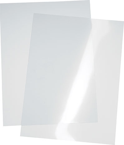 Transparente Ersatzfolie für Kundenstopper 'Classic' im A1 Format