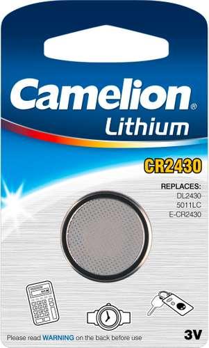 Camelion Lithium Knopfzellen CR2430-BP1 3V