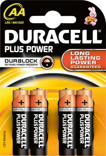 Duracell Plus Power Mignon AA / LR06, 1,5 V