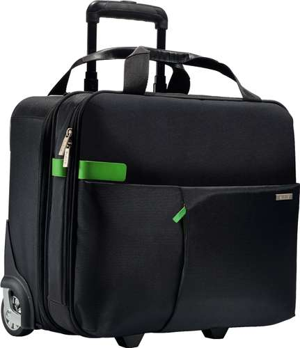 LEITZ Complete Handgepäck Trolley Smart Traveller in Schwarz