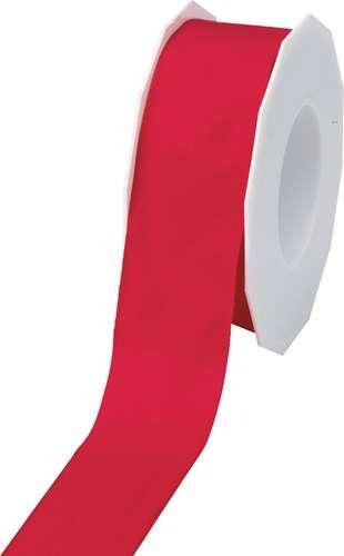 Geschenkband, rot, 40 mm x 25 m