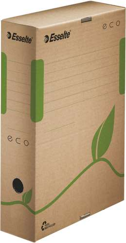 Esselte Archivbox 'ECO' 80 mm in braun