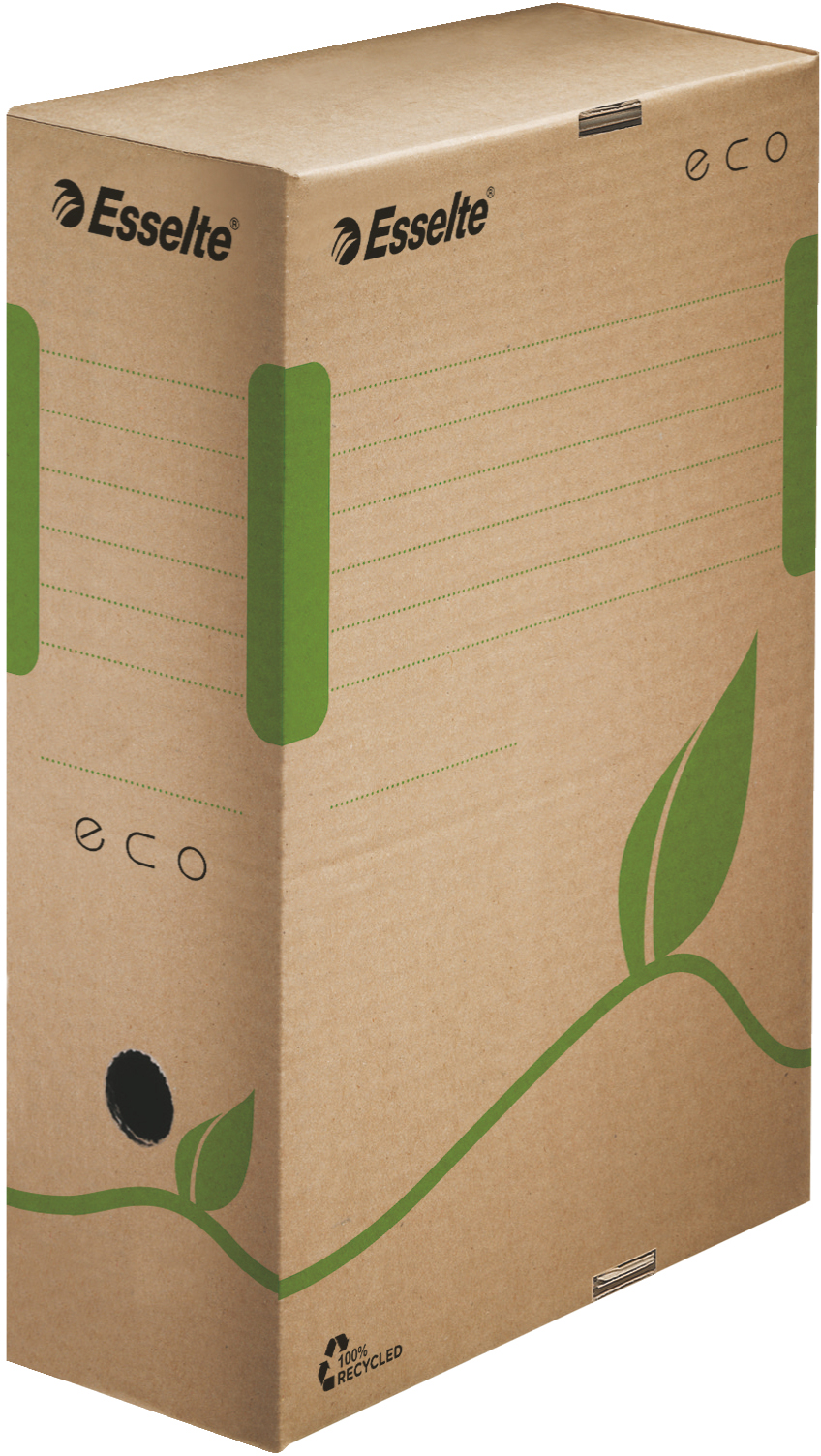 Esselte Archivbox 'ECO' 100 mm in braun