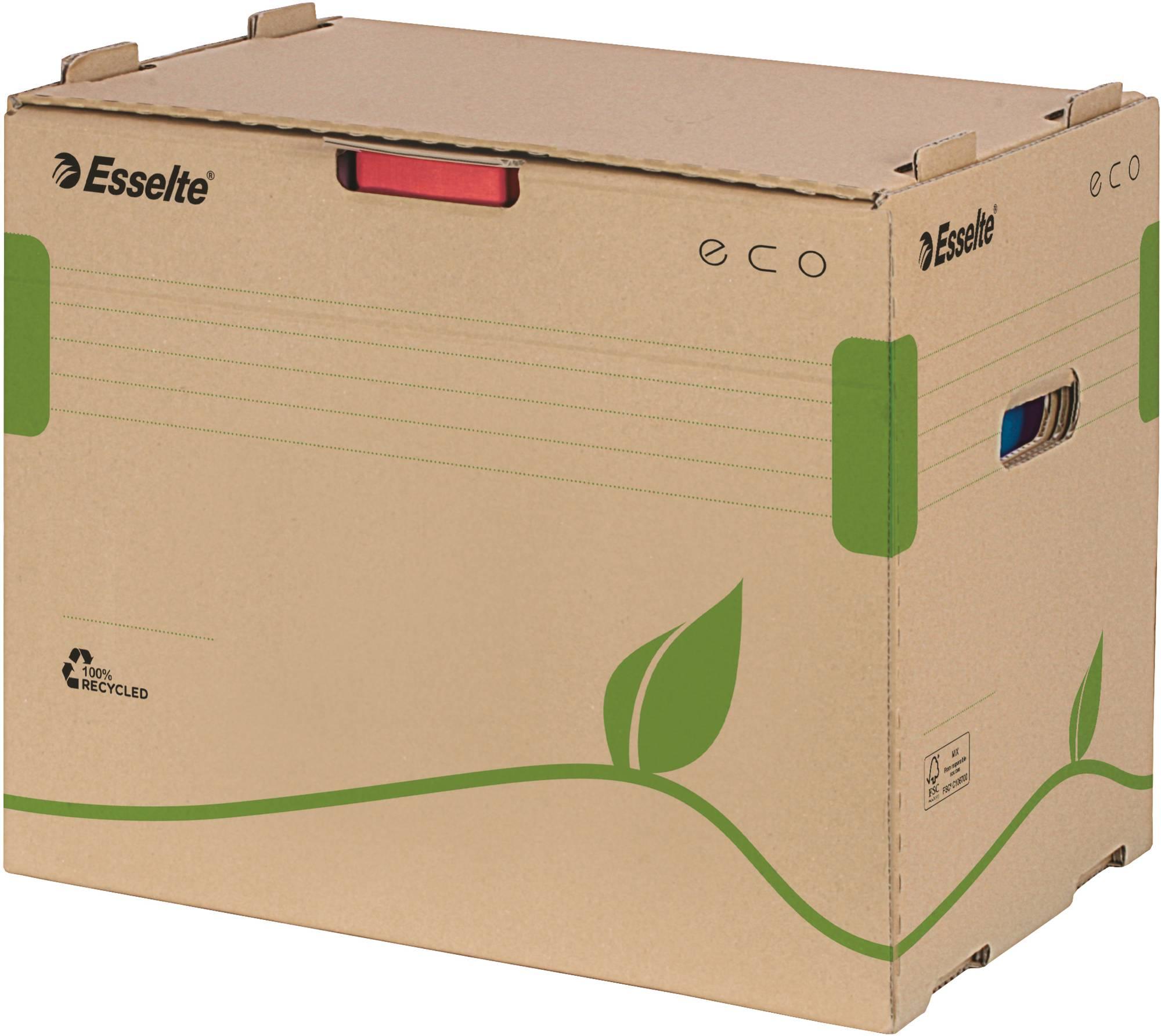 Esselte Archiv-Container 'ECO' für Ordner in braun