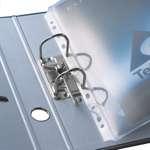 Glasklare Projektmappe für A4 mit Abheftrand  3