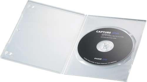 DVD-Hülle extra dünn, Polypropylen