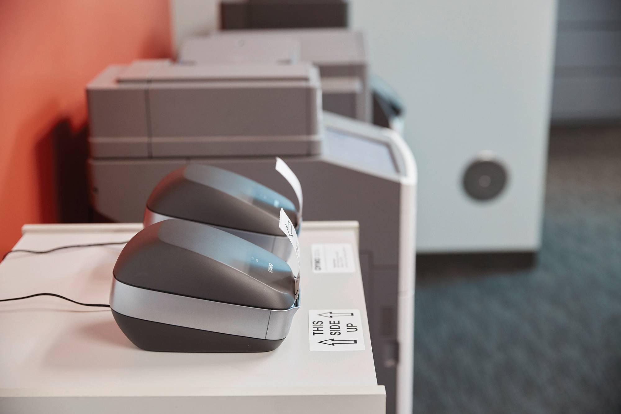 """Anwendungsbeispiel Hochgeschwindigkeits-Etikettendrucker """"Dymo LabelWriter Wireless"""""""