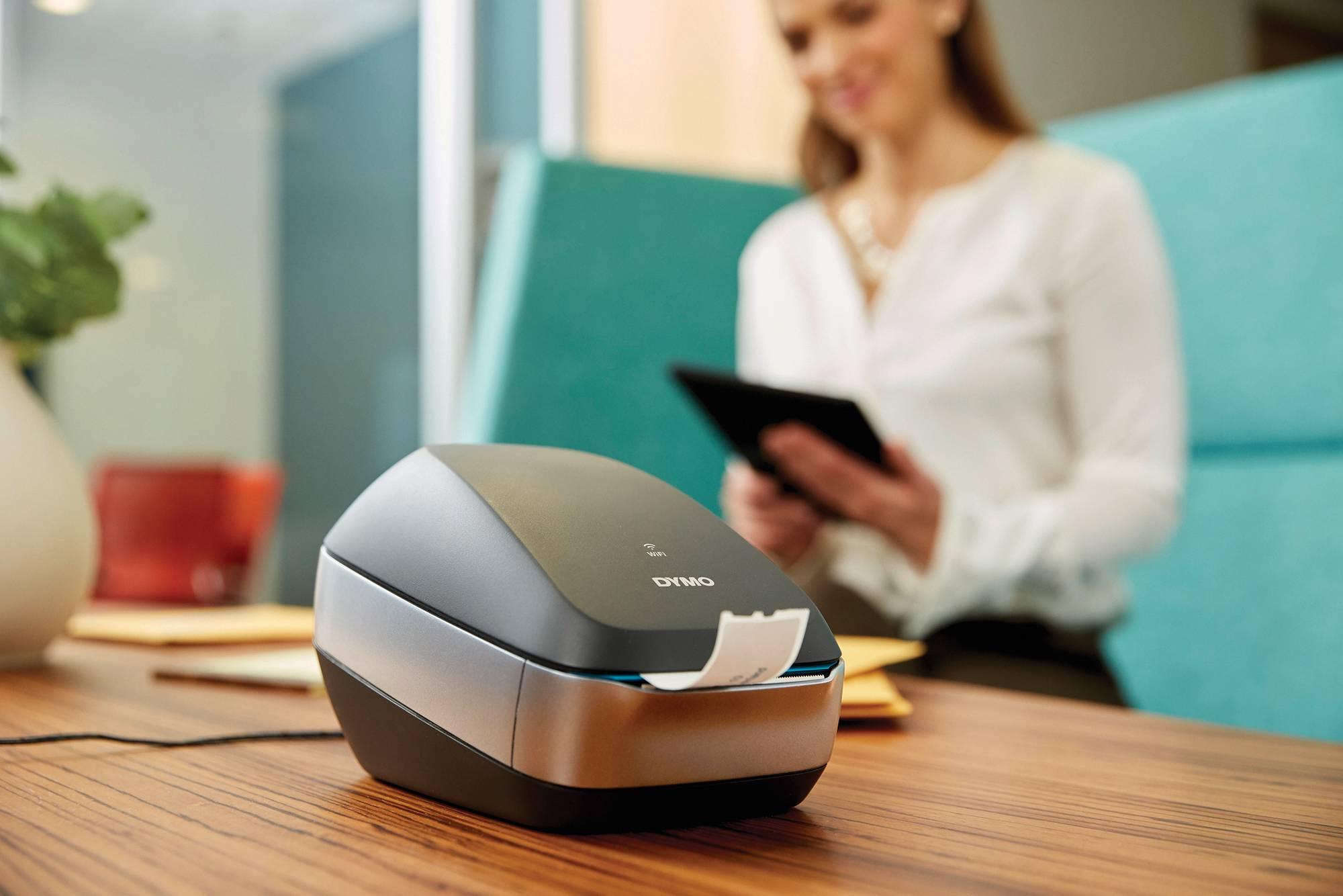 """Anwendungsbeispiel 2 Hochgeschwindigkeits-Etikettendrucker """"Dymo LabelWriter Wireless"""""""