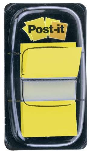 Post-it Haftstreifen Index Standard 50 Blatt gelb