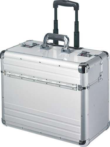 Trolley Pilotenkoffer inkl. herausnehmbare Laptop-Tasche