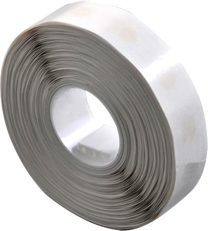 Silikon-Klebepunkte 8 - 10 mm, ablösbar