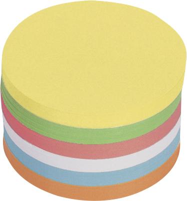 Moderationskarten Kreis, selbstklebend, 14 cm