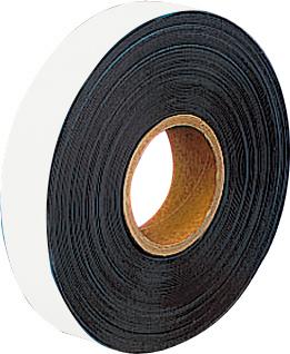 Weißes Magnetband auf Rolle, 10 m x 40 mm