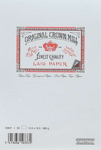 Original Crown Mill Classic Line Karten, 10,5 x 15, 5 mm, 280 g/qm