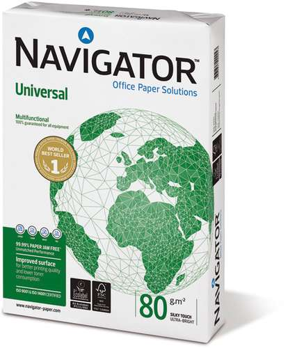 Navigator Universal Kopierpapier in A4, 80 g/qm