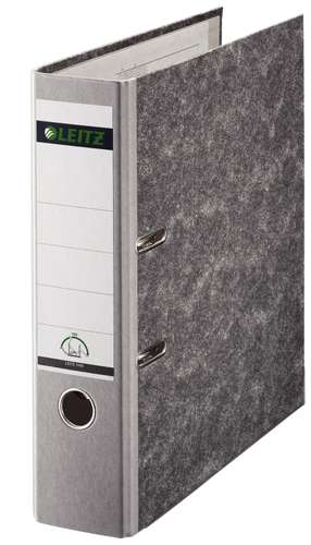 Leitz Ordner 1080 Wolkenmarmor-Design CO2 Neutral, 80 mm