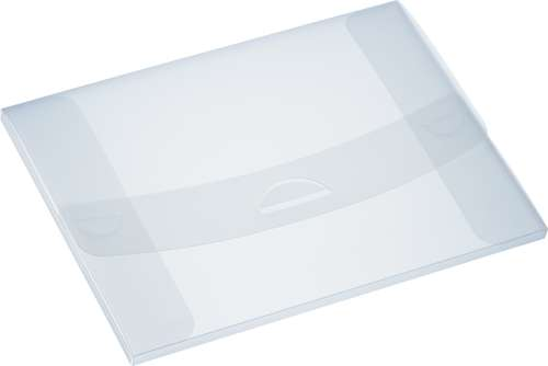 Präsentationsbox A4 mit Steckverschluss, 100 Blatt