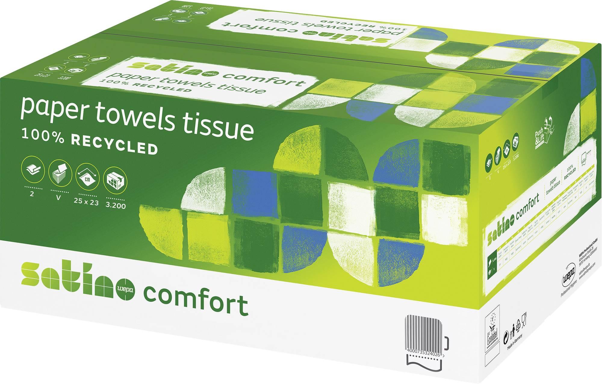 Wepa Satino Comfort Papierhandtuch 2-lagig
