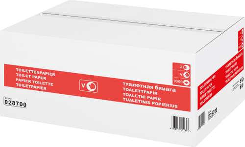 WEPA Toilettenpapier Supersoft, 2-lagig