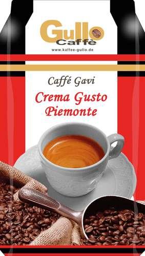 Gullo Kaffee Caffé Gavi 10001, ganze Bohne, 1.000 g