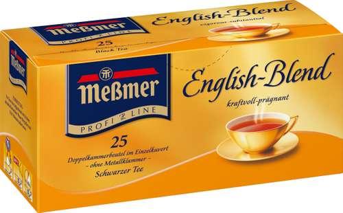 Meßmer Tee Englische Mischung, 25 Beutel