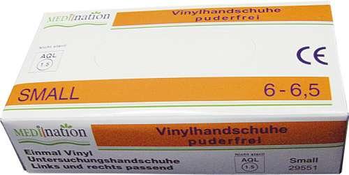 Einweghandschuh Größe S, Vinyl