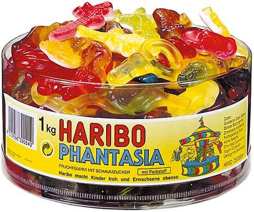 HARIBO Fruchtgummi Phantasia, 1.000 g