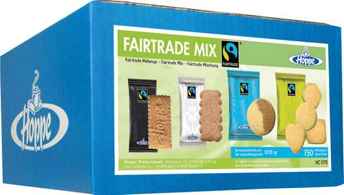 Hoppe Gebäck Fair Trade Mischhung, 150 St./Pack.