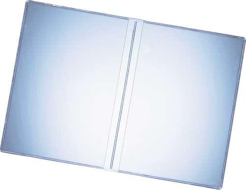 Glasklare Doppelhülle im A7 Format