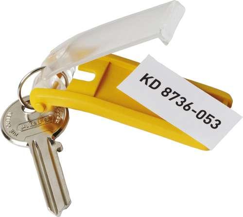 Schlüsselanhänger, gelb