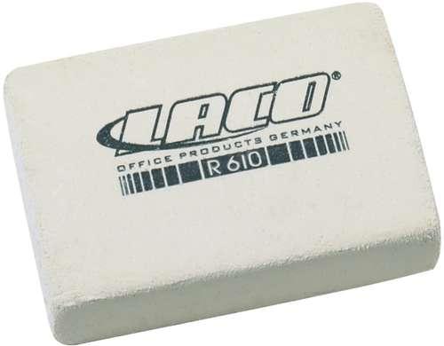 Laco Radierer R610 in Weiß
