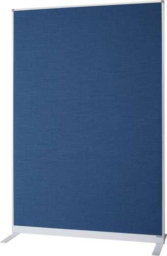 Taubenblaue Trennwand aus Textil
