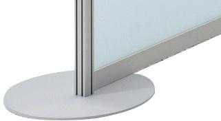 Metallbodenplatte 'Screen'