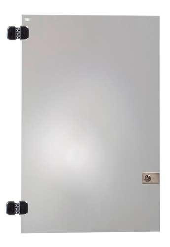 Tür mit Schloss, 80 x 40 cm für Vitrinen Quattro I - V