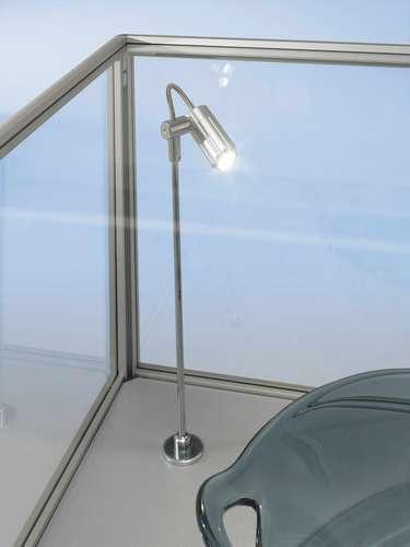 LED-Beleuchtung 4 x 4, 2 W Power-LED Spothalter