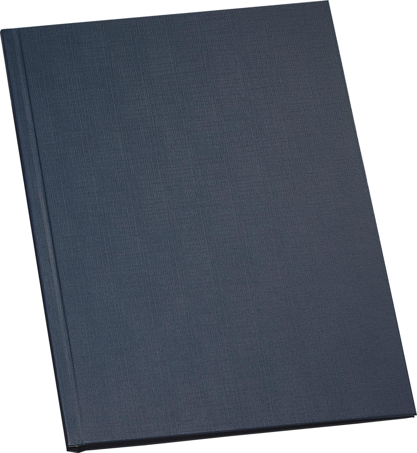 Einband Leinenstruktur bis 245 Blatt in schwarz