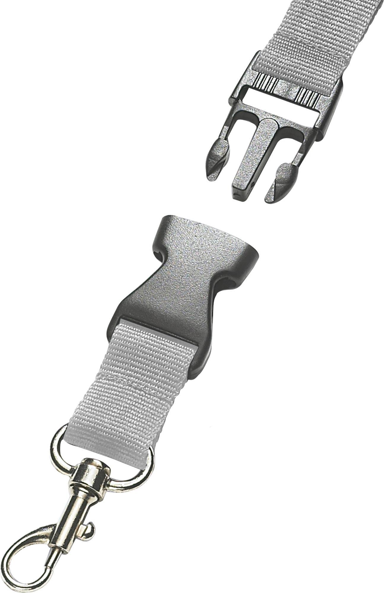 25mm langes Umhängeband mit Steckverschluss