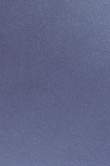 Einbanddeckel 'Nobless' ohne Rille, in blau